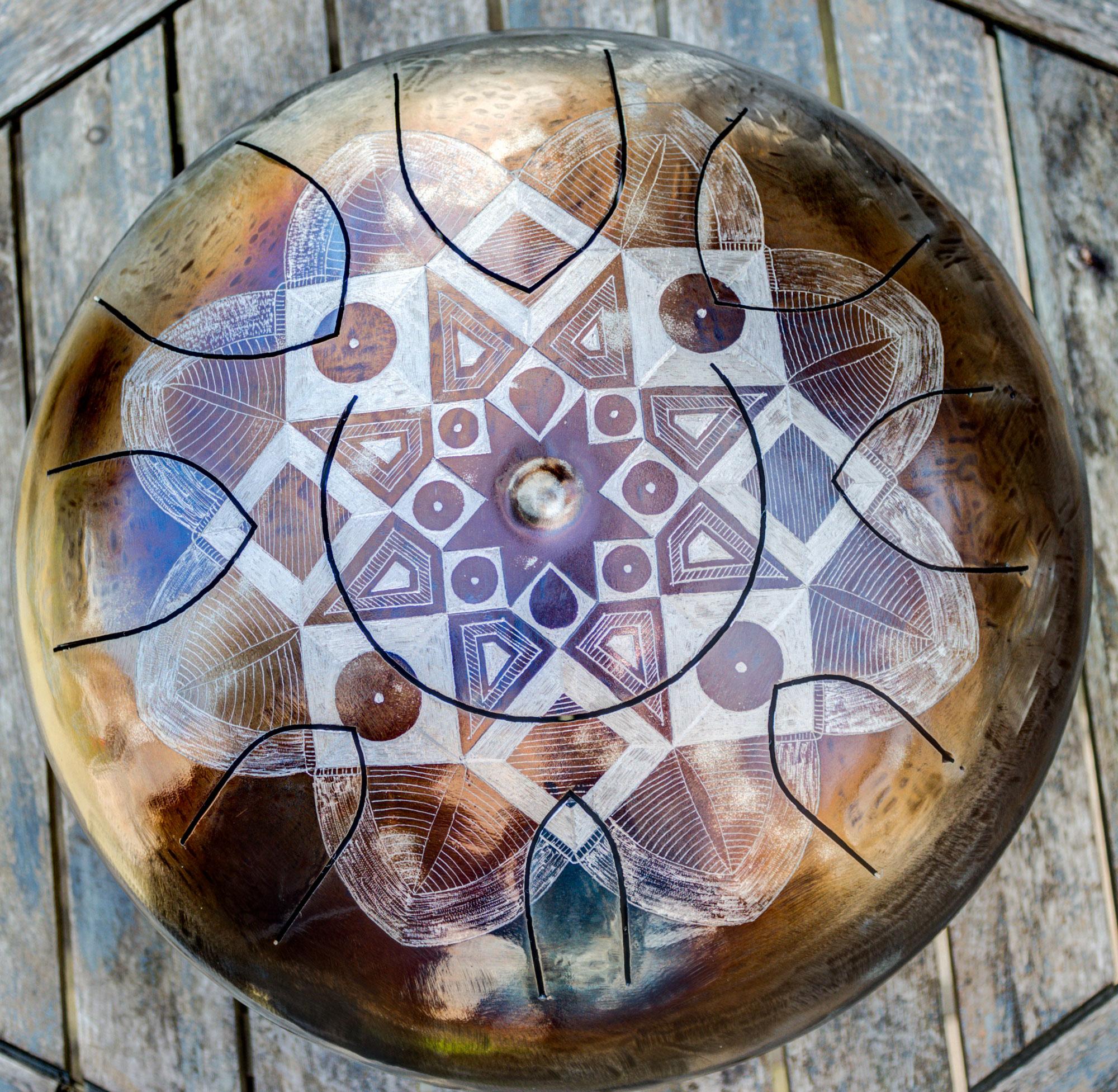 Tesseract mandala